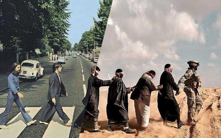 用一張照片的空間 表達兩個世界的差異! 土耳其攝影師 Uğur Gallenkuş~