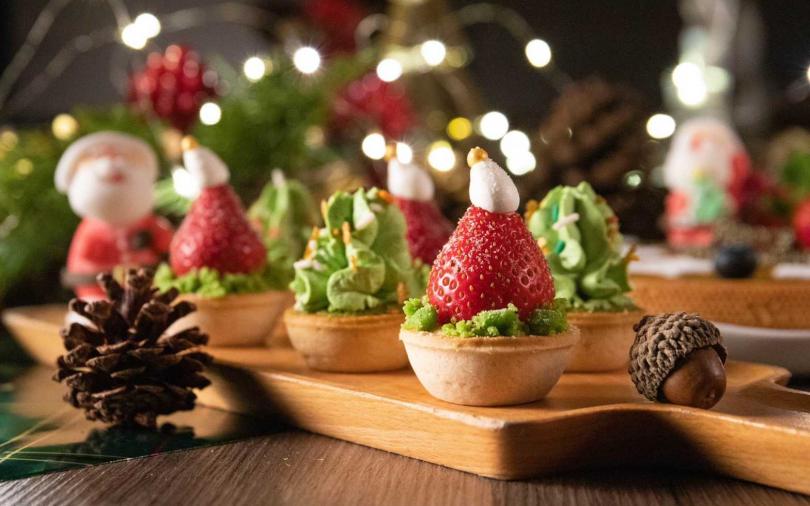 耶誕甜點比顏值 抹茶聖誕樹塔、耶誕熊甜筒、聖誕老公公 可愛造型相機先食!
