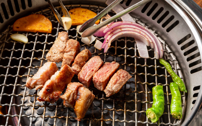 韓國正宗直火烤味 姜滿堂