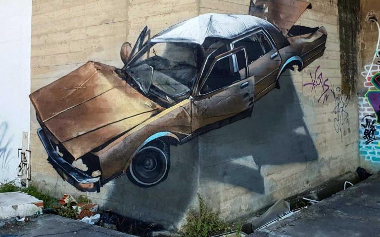 猛翻的3D塗鴉藝術 顛覆你對於牆面與牆角的認知!沒特別提防肯定會被這錯覺嚇一大跳!