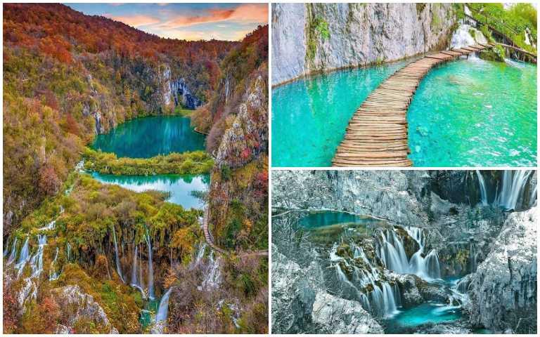 這真的都是同個地方!「16湖國家公園」四季大不同,夢幻景色畢生必去一次!