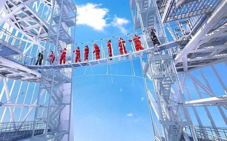 心臟不夠大顆就別來!「世界最高天橋」你敢走嗎?