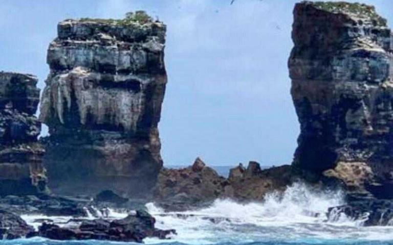 演化論的靈感不敵侵蝕!全球第一個世界遺產加拉巴哥群島地標「達爾文拱門」崩塌