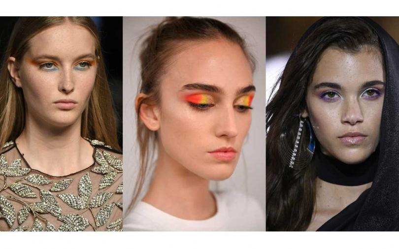 2020春夏最新眼妝畫法出爐!單色太無聊、漸層暈染不夠看 就是要這樣的對比色才時髦!