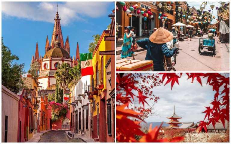 世界7大最佳旅遊城市!從中美洲、歐洲到亞洲,你去過幾個了?
