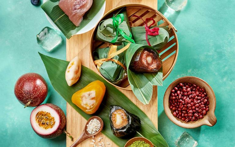 滿滿干貝和鮑魚!五星飯店祭出新品迎端午,再加碼炎夏必嚐的「Q彈冰粽」!