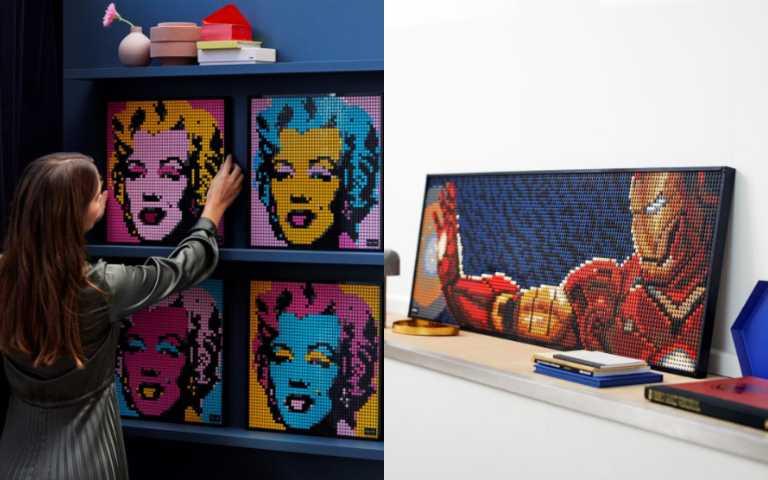大人的遊戲!樂高主攻18+市場「LEGO Art」系列,馬賽克風格簡直就是藝術品!