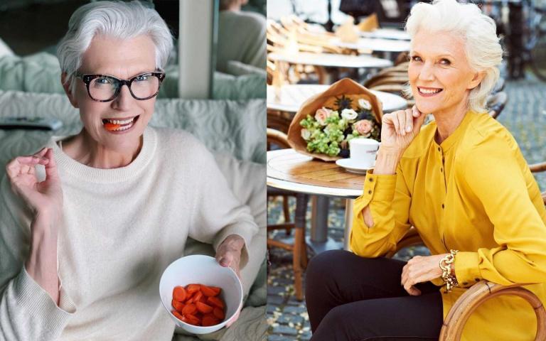 一窺特斯拉執行長72歲超模媽媽的4大飲食原則!