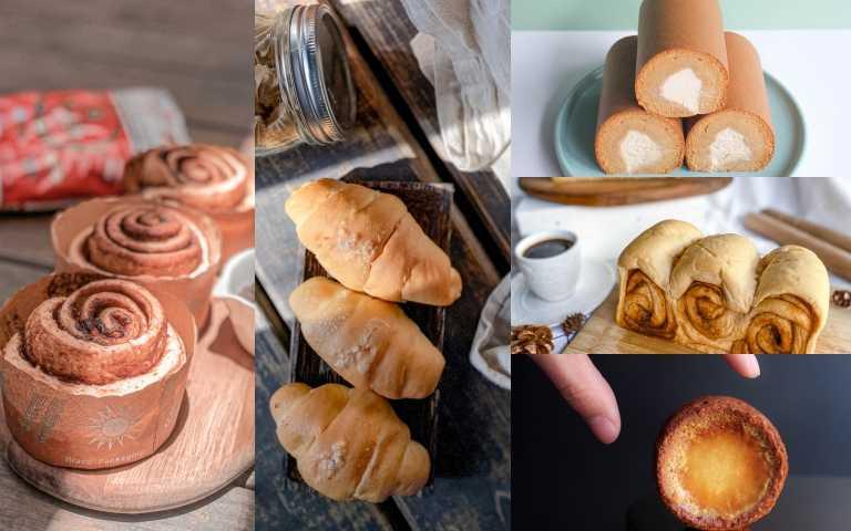 東門站超人氣甜點小食糖SUGARbISTRO終於推出宅配安⼼購!最強泰泰肉桂卷、烏龍青和泰奶口味生乳卷、棕櫚糖生吐司在家吃超美味!