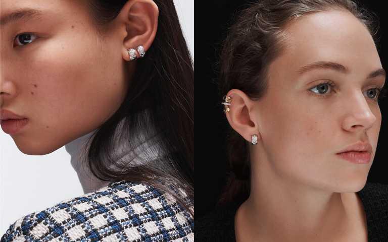 無界限配件穿搭玩味!平衡、強烈、重複、層疊 香奈兒珠寶耳環獨有魅力風格語彙