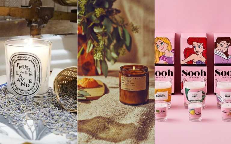 幸福感UP!香氛蠟燭浪漫推薦,快來找出屬於妳的味道!
