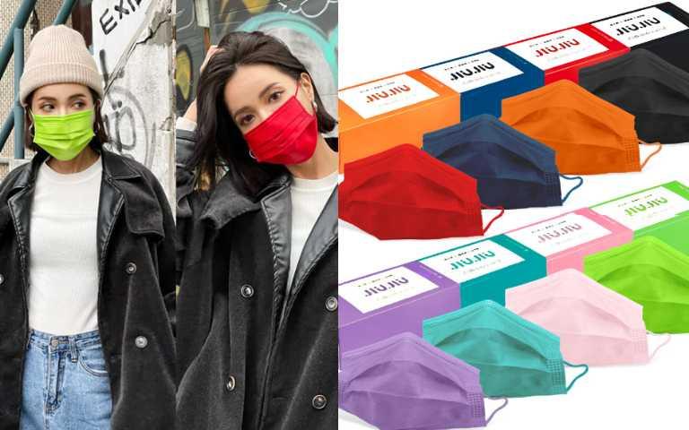 限量6萬盒!新年必備大膽玩色MIT口罩,手刀搶起來!