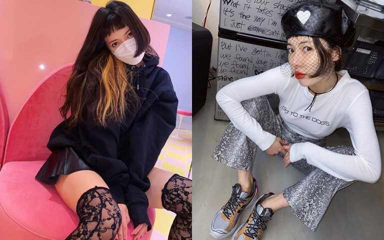 原來蕾絲&網紗可以這樣穿搭! 泫雅親自傳授高段班街頭時尚,整套偷偷學起來就對了!