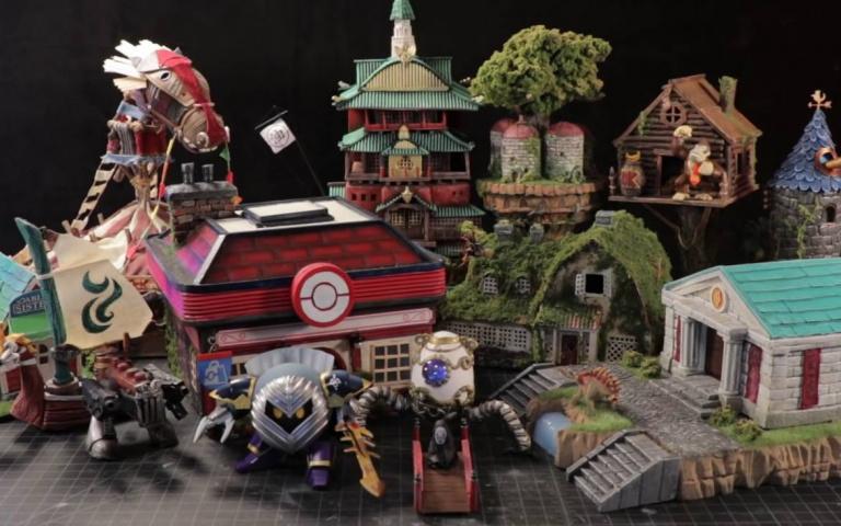 用垃圾製造出動漫之中的場景,連吉卜力動畫內的建築都完整複製的Studson Studio!