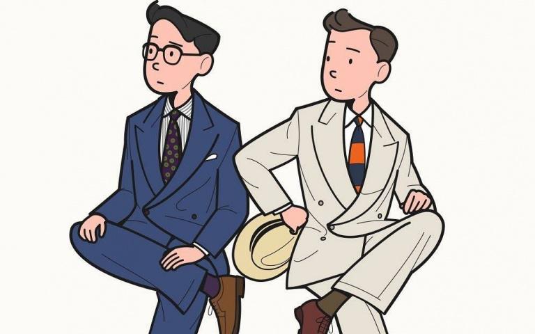日常穿搭缺靈感?看看韓國插畫家 Aaron Chang 的畫作說不定你就會有想法瞜!