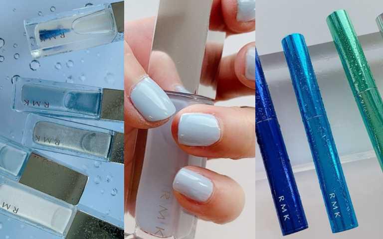 日韓最流行『單寧妝』!夏日眼妝穿上超防水『單寧牛仔色』、『牛仔淺藍美甲』,整套也太時髦了!