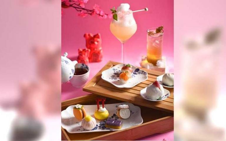 聯名下午茶打造精緻五感饗宴
