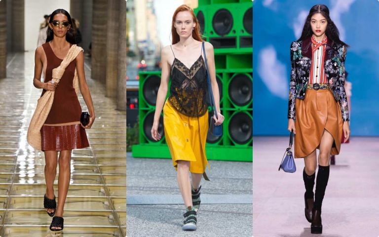 時髦精看過來!掌握2大重點 讓夏天也能穿上「皮革」單品