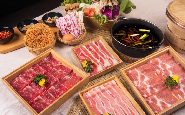 「冷藏肉」吃到飽500有找!「築間」最新鍋物品牌插旗台中 7大湯頭+60種食材CP值破表