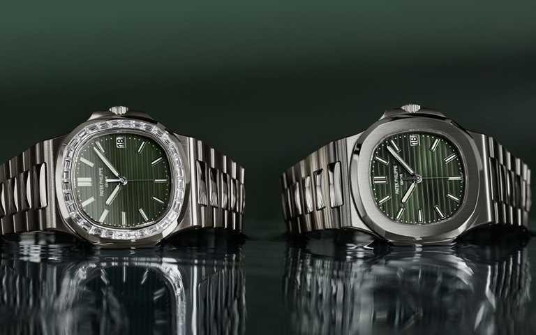 橄欖綠面火鑽光芒!百達翡麗「Nautilus金鷹」系列傳奇鋼材時計 完美預告最終回嶄新篇章