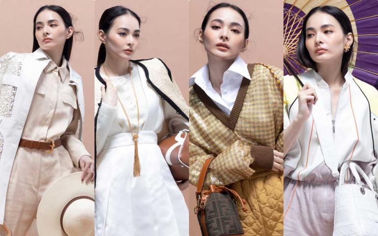 米、白、奶茶色最夯,這樣搭 輕鬆搭出氣質度破表的時髦春裝