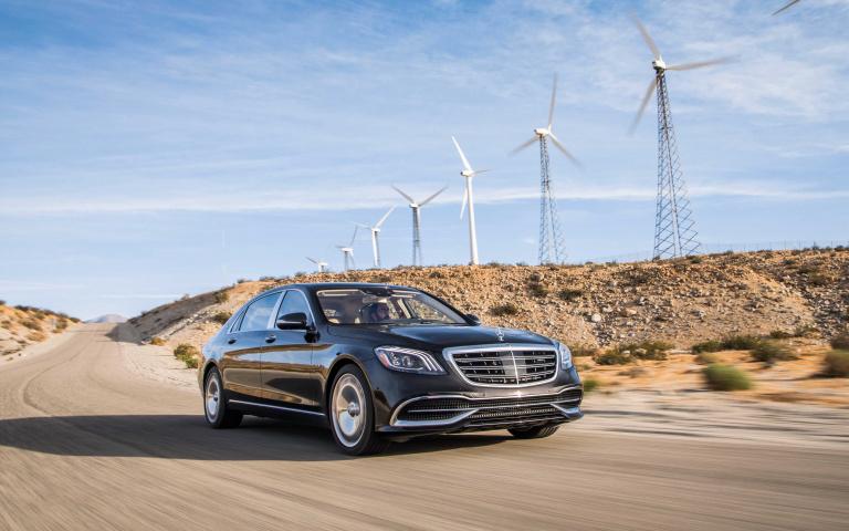 專屬總裁的陸地頭等艙 Mercedes-Maybach S650 高雅而貴氣!