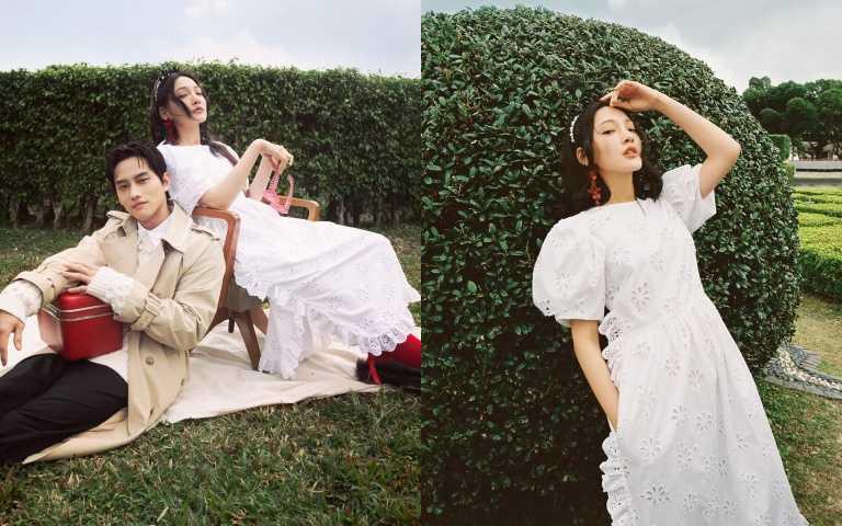 無法抗拒的浪漫情懷:Simone Rocha X H&M 以透紗、蝴蝶結堆疊出的春光