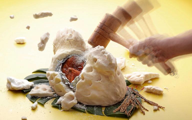 想吃雞還得用木槌敲!知名日本料理「百種和食吃到飽」,還有超狂的「可樂果炸蝦」