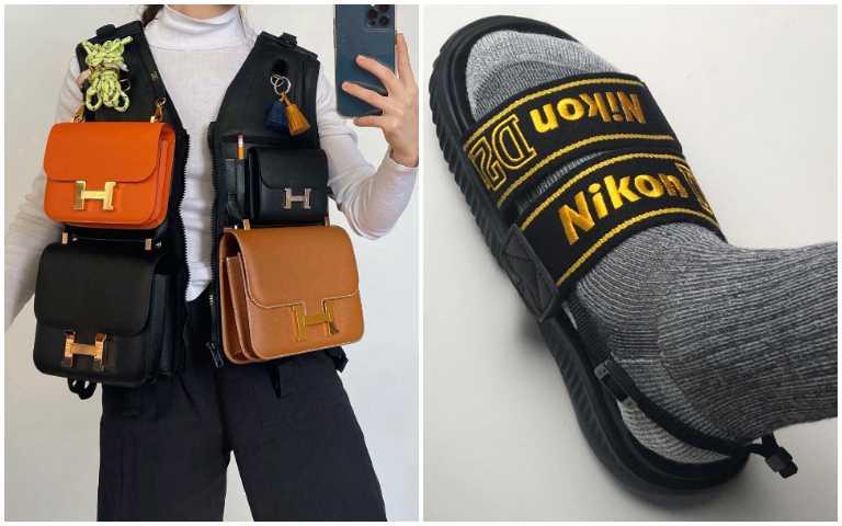 愛馬仕背心、Nikon拖鞋!鬼才設計師Nicole Mclaughlin惡搞藝術,看了都有點於心不忍!