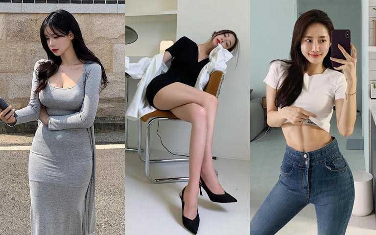 這些韓國小姐姐的身材太犯規!這種纖腰細腿的超誘人曲線連女生看了也會噴鼻血!