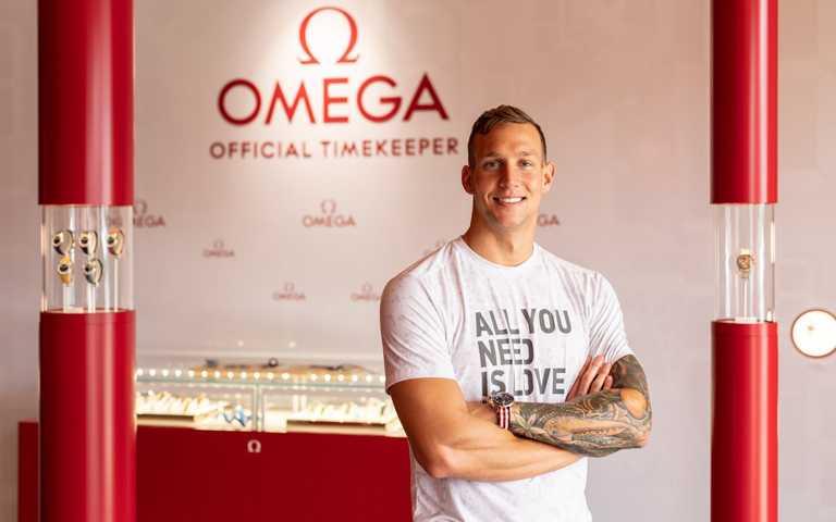 2020東京奧運「泳」奪5金!新一代「飛魚」接班人德萊賽爾,加入歐米茄游泳巨星大家庭再造傳奇