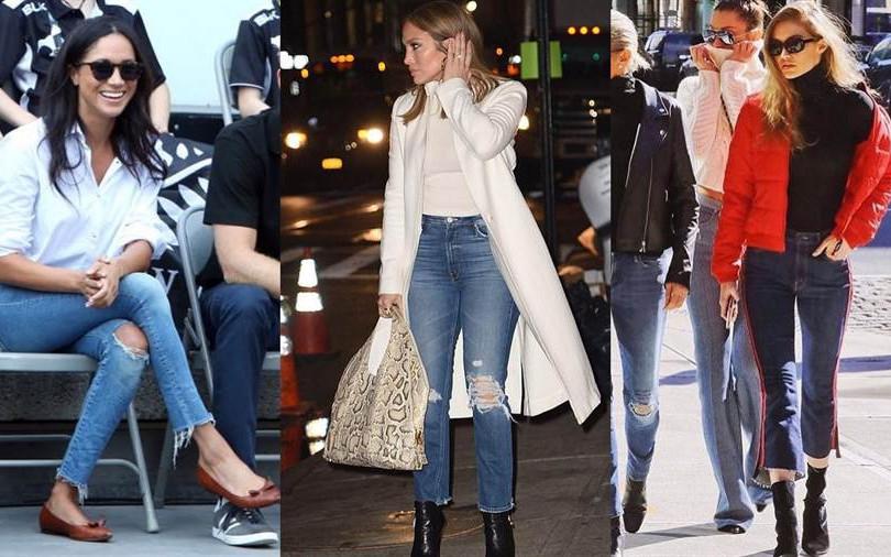 穿上美臀、逆天長腿通通有!梅根王妃、Gigi Hadid、Kendall人手一件的丹寧褲就是它!