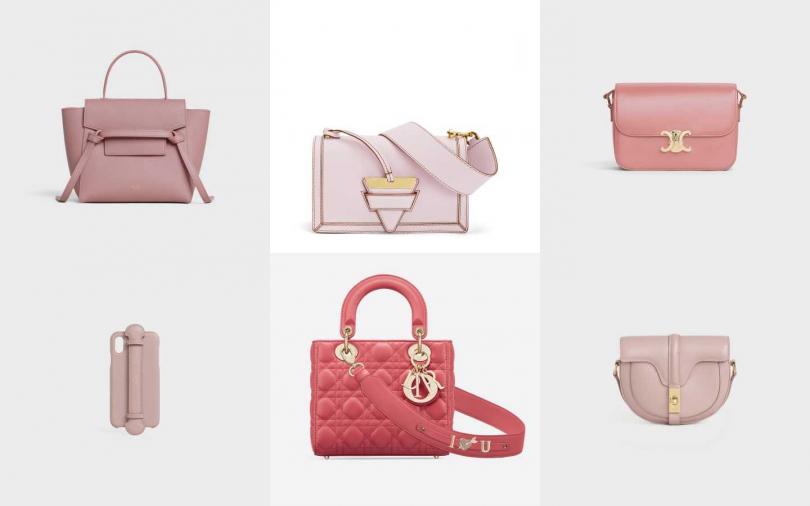 打造史上最浪漫情人節!用「玫瑰粉黛色」包款寵壞她