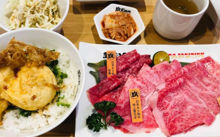 挑戰全世界最便宜!燒肉品牌進駐微風台北車站 38元起品嘗A5和牛
