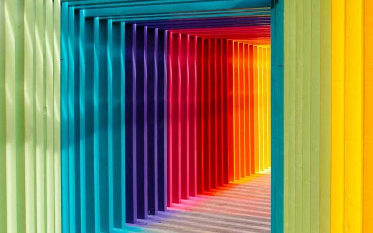 韓國IG大熱!令人毛骨悚然的色彩心測,從顏色排序看出現在與未來