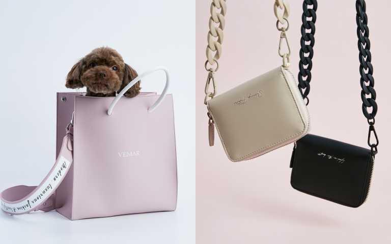 情人節就送它!VEMAR紙袋包推出絕美「粉霧紫」仙氣色,還有情人節限定鍊帶零錢包雙夾組打造無性別風格