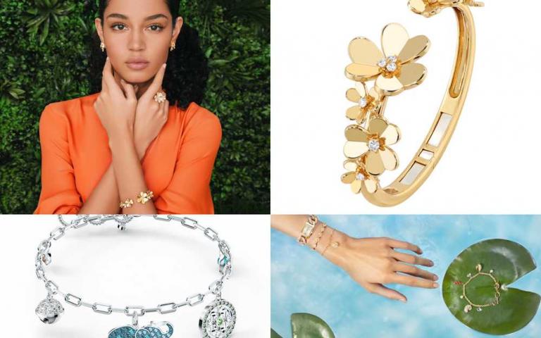 傾訴迷人花語!一齊進入高級珠寶的春光迷幻花園