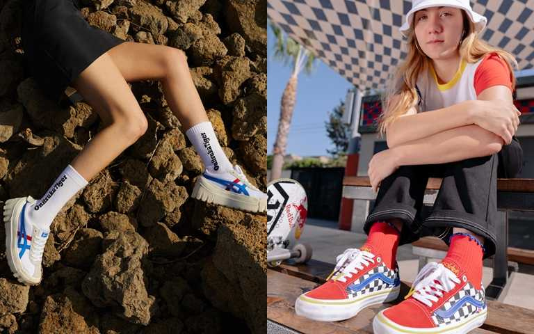 這季復古厚底鞋真的該買!繽紛色女力滑板鞋個性佔盡風頭!