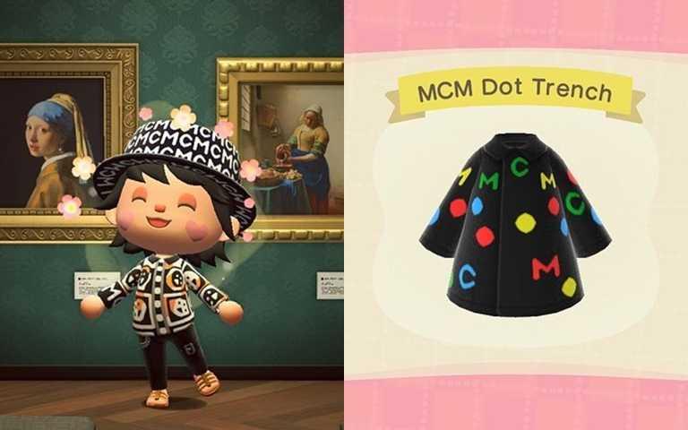 時裝品牌MCM跟風推秋冬訂製服飾 免費開放下載島民快刷起來!