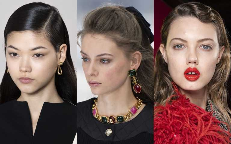2020秋冬髮型趨勢:旁分線條、半挽公主頭、復古波浪捲