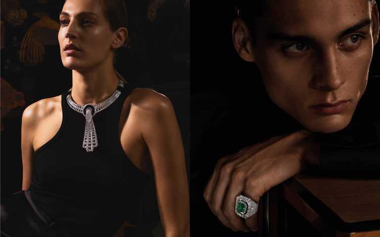性別中立陰陽鏡相!寶詩龍「Histoire de Style, Art Déco」系列高級珠寶 穿戴自由的藝術讚歌