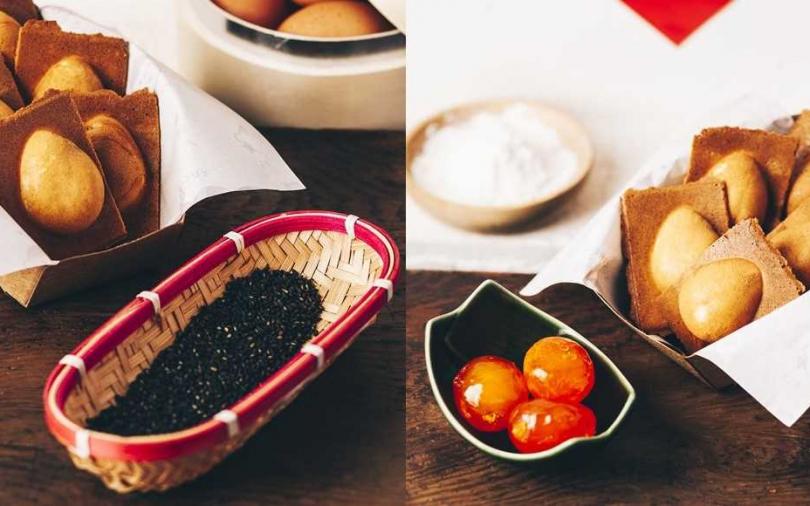 翻玩傳統點心 年節限定QQ芝麻、蛋黃流沙雞蛋糕