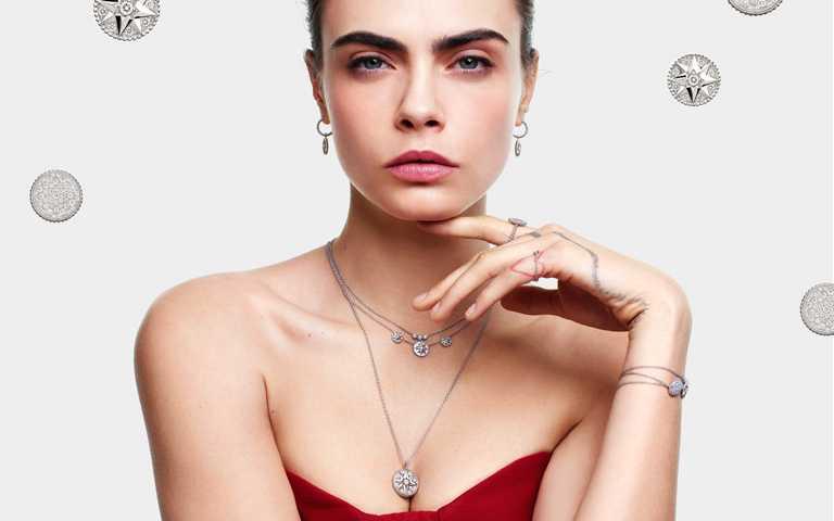 穹蒼星宿繾綣纏繞! DIOR「Rose des Vents羅盤玫瑰」系列珠寶混搭展現不羈真我