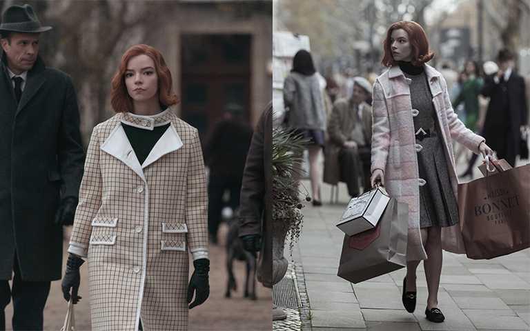 《后翼棄兵》女主角Beth愛穿、眾星也跟風,「大格外套」秋冬必備最新時髦單品