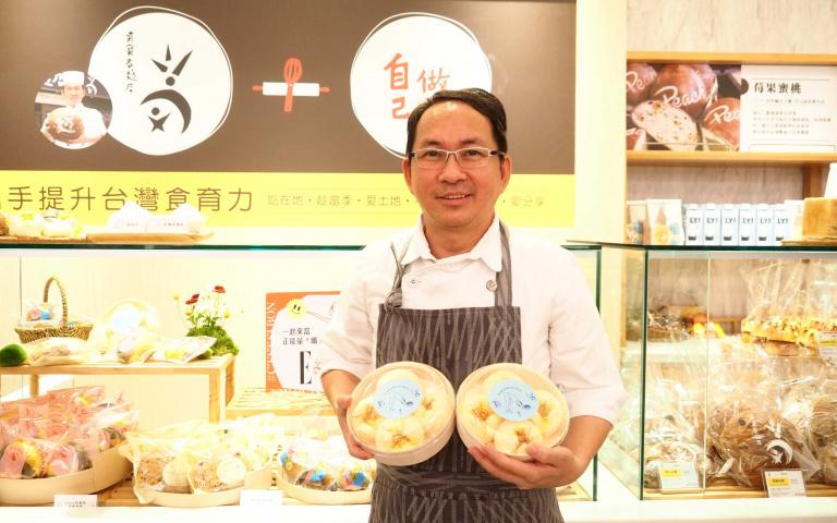 吳寶春3計畫啟動  推線上烘焙課、開DIY體驗店 引進低糖質麵粉打造「纖女麵包」