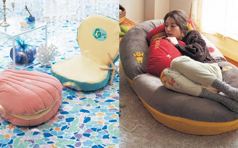 美人魚貝殼椅+維尼沙發!迪士尼腦粉尖叫中,還不快讓夢幻家具療癒你!