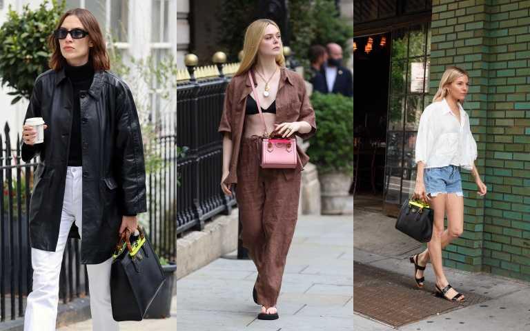 優雅於時髦兼具:GUCCI把黛安娜王妃的竹節托特包加上螢光皮革飾帶,打造全新GUCCI Diana系列包款
