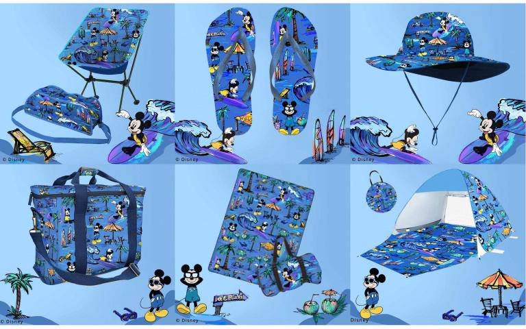 是超可愛的米奇帳篷、野餐墊!Daniel Wong*迪士尼Mickey Mouse聯名印花系列每樣都太值得收藏啦~
