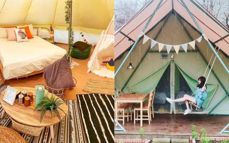 一卡皮箱入住!豪華露營讓你成為生活風格家!