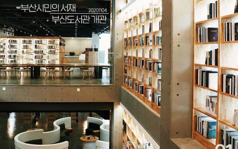 不看書也能拍美照!釜山全新景點,美度和星空圖書館有得比拚!